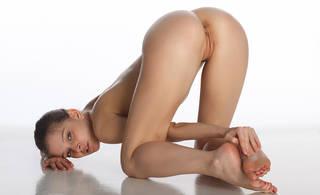 Sexy Mädchen mit geilen Arsch.